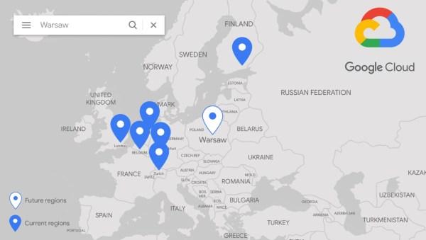 W Warszawie powstaje nowy region Google Cloud