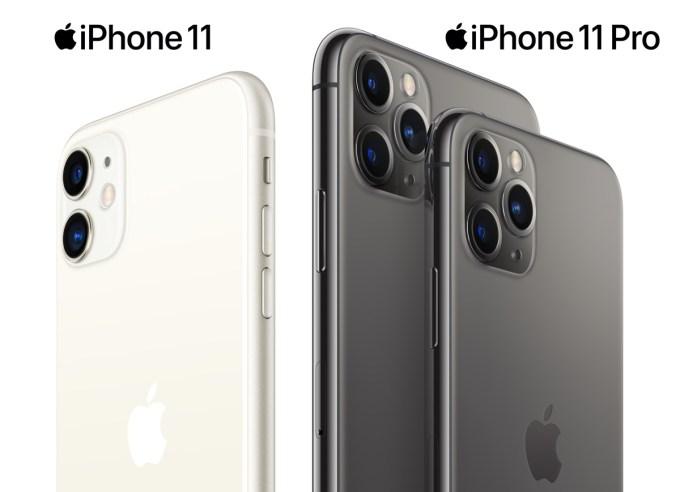iPhone 11, iPhone 11 Pro Max i iPhone 11 Pro