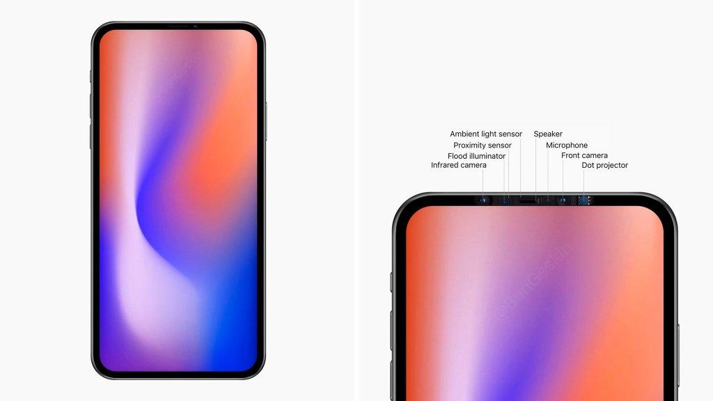 Koncepcja iPhone'a bez notcha