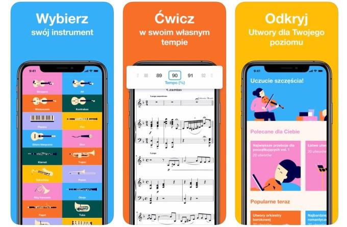 """Zrzuty ekranu z aplikacji mobilnej """"Metronaut"""""""