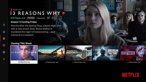 Wkrótce Netflix przypomni Ci o ulubionych tytułach