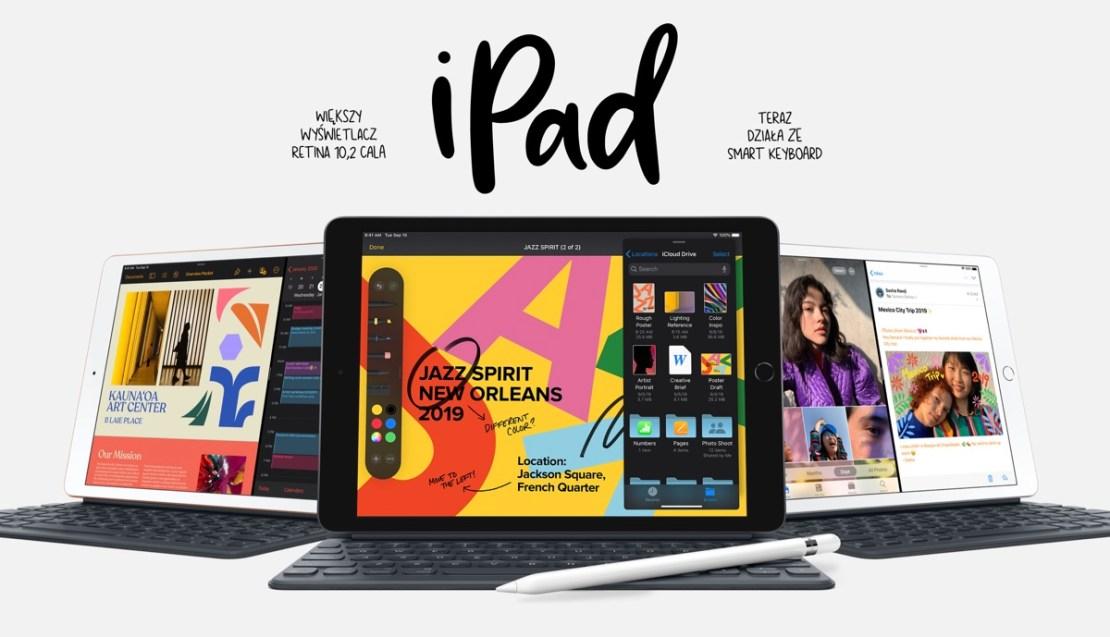 Nowy iPad 10,2 cala z 2019 r.