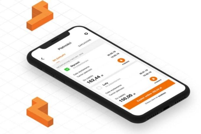 """Ekran szybkich płatności w aplikacji mobilnej """"Mój Orange 5.0"""""""