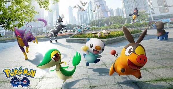 Od dziś Pokémon GO rozszerza się o 5. generację Unova