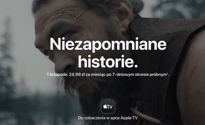 Apple TV+ Niezapomniane historie.