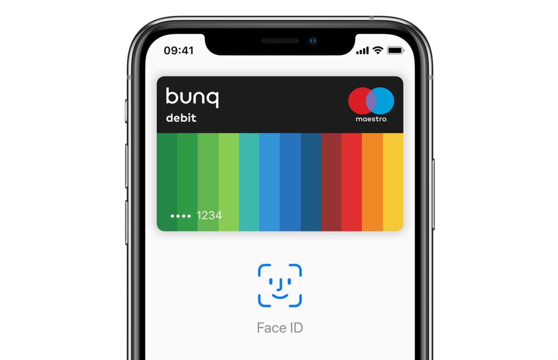 Bunq Apple Pay