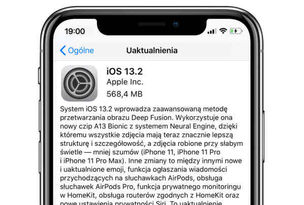 iOS 13.2 oraz iPadOS 13.2 dostępne do pobrania