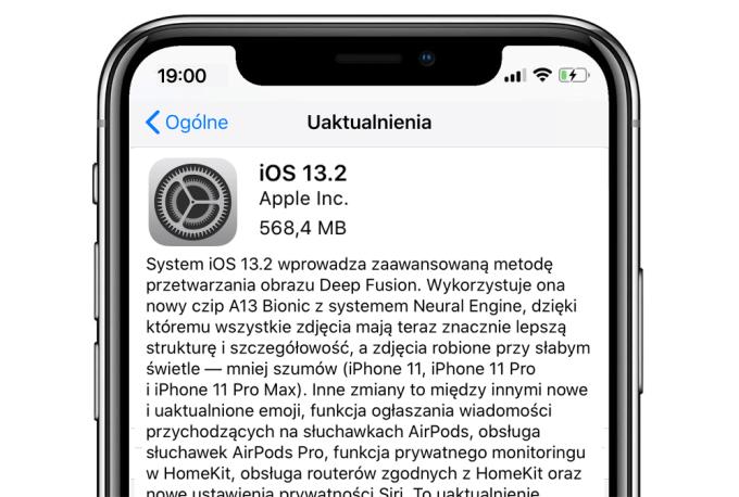 iOS 13.2 OTA