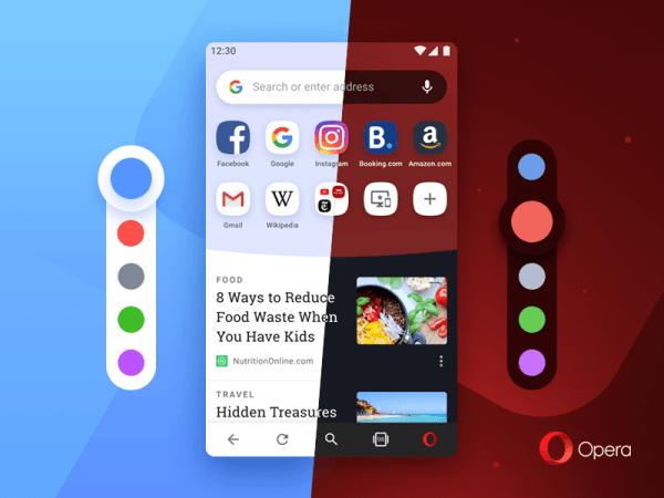 Mobilna Opera 54 na Androida nabiera kolorów