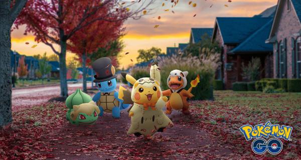 Upiorna zabawa podczas Pokémon GO Halloween 2019