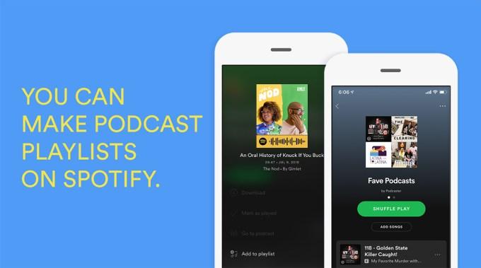 Podcasty w Spotify