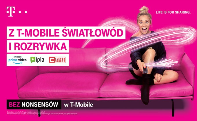 T-Mobile kampania Bez nonsensów z Sonią Bohosiewicz.