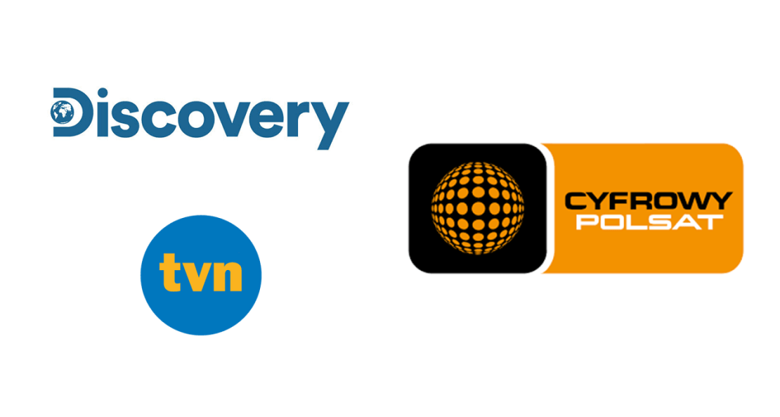 logo: TVN Discovery i Cyfrowy Polsat