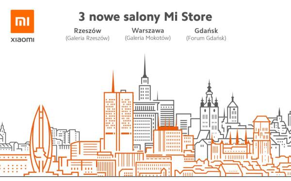 Kolejne Mi Stores w Polsce: w Gdańsku, Rzeszowie i Warszawie