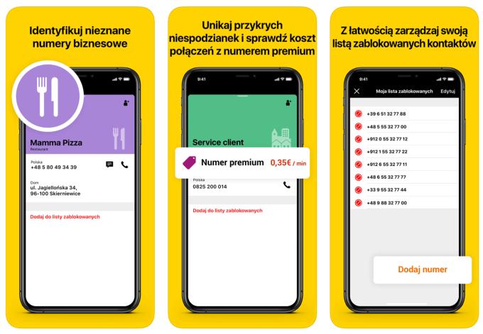 """Zrzuty ekranu z aplikacji mobilnej """"Orange Telefon"""" (1)"""