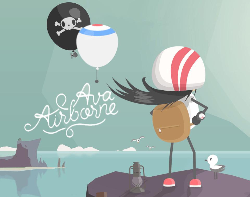 "Gra mobilna ""Ava Airborne"""