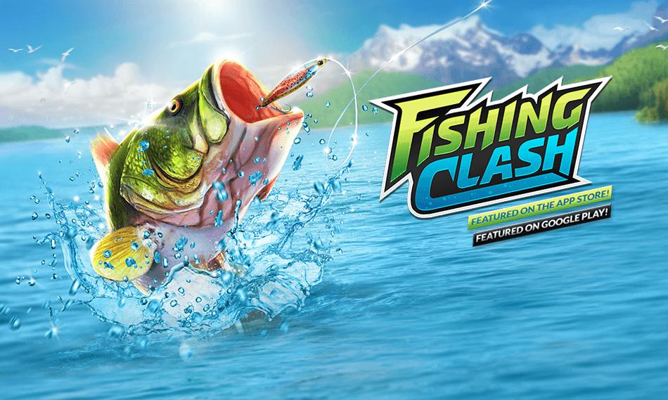 "Wędkarska gra mobilna ""Fishing Clah"""