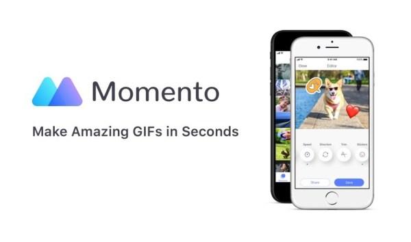GIF Maker by Memento do tworzenia GIF-ów z filtrami w sekundę!
