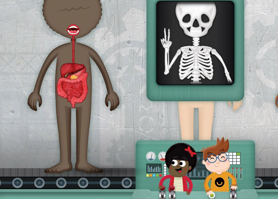 Aplikacja mobilna: How does The Human Body Work?