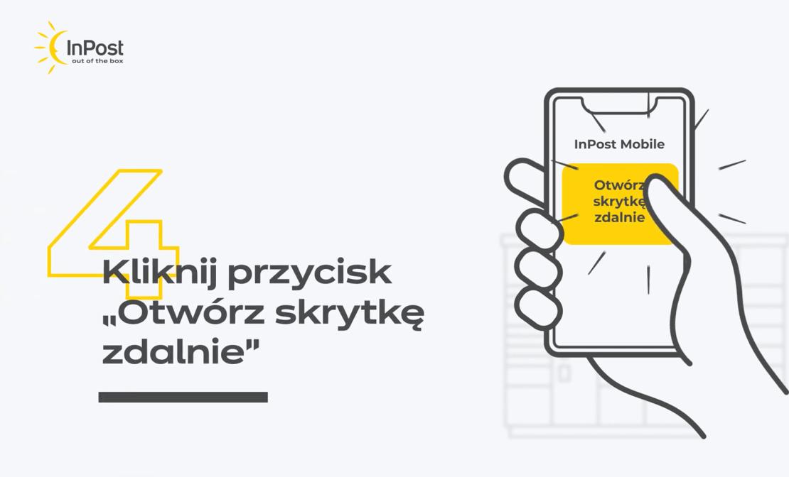 Zdalne otwieranie skrytek w Paczkomatach przez aplikację mobilną InPost Mobile 2.0