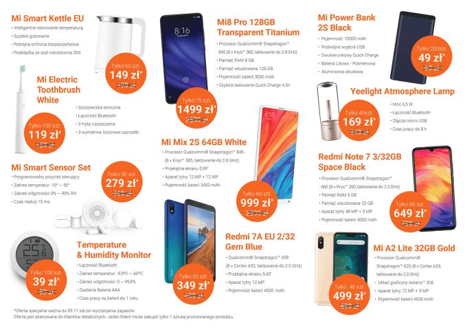 Promocje z okazji otwarcia Xiaomi Mi Store w Szczecinie