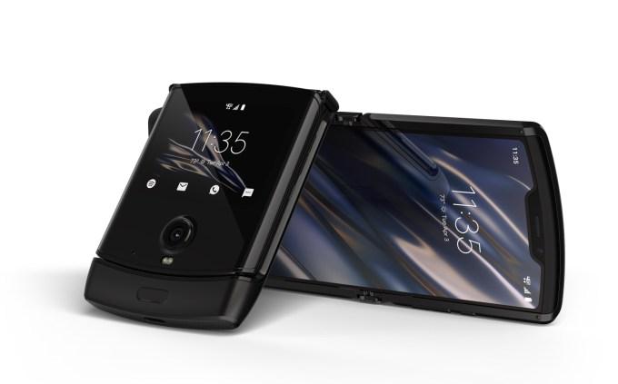 Motorola razr (2019) – widok z przodu
