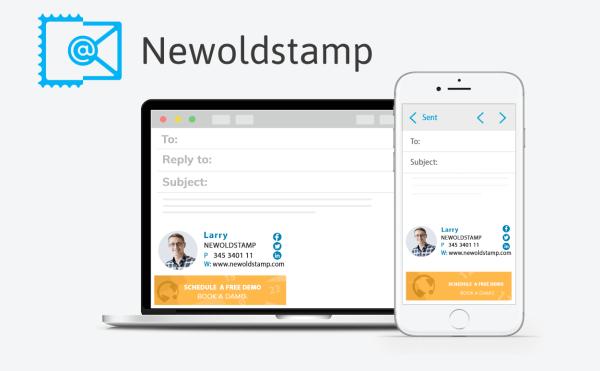 Stwórz profesjonalny podpis e-mail w generatorze Newoldstamp
