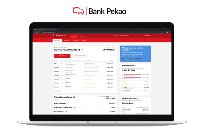 Nowa bankowość internetowa Pekao24 (2019)