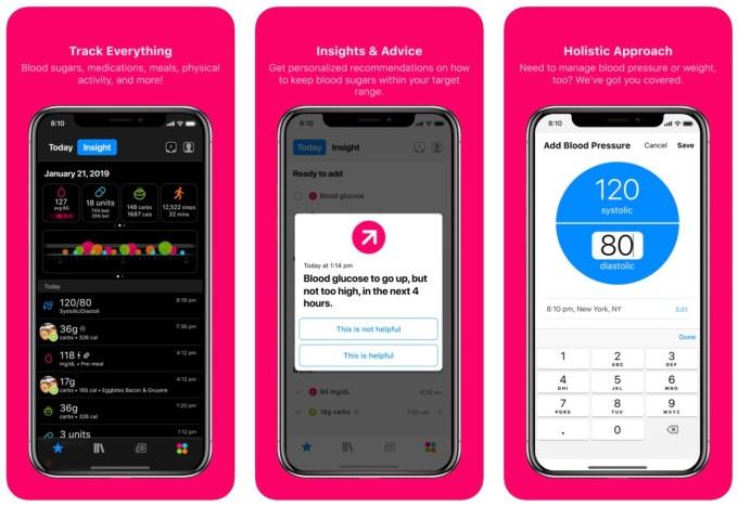 Zrzuty ekranu z aplikacji: One Drop - Diabetes Management