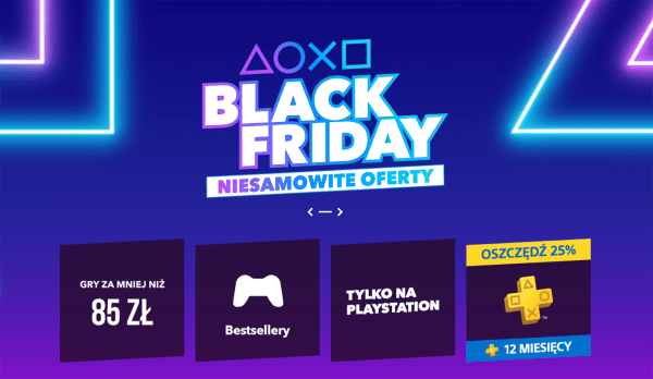 Roczna subskrypcja PlayStation Plus za 180 zł [Black Friday]