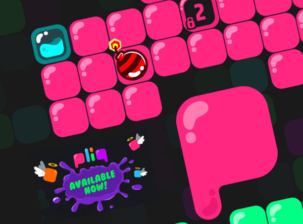 """Gra logiczna """"pliq: AMarvelous Puzzle Game"""", czyli jaki jest kształt niczego?"""