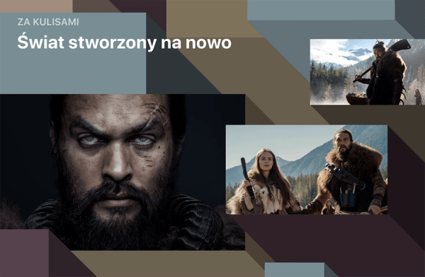 """Niewidomi aktorzy pomogli stworzyć serial """"See"""" na Apple TV+"""