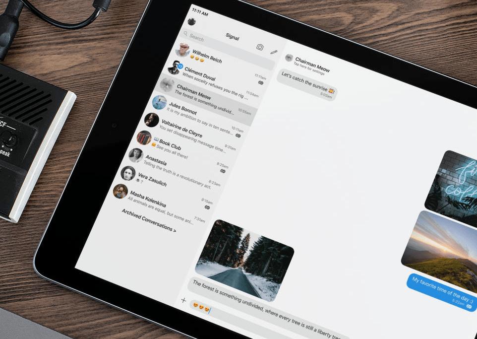 Signal – prywatny komunikator teraz także na iPadzie
