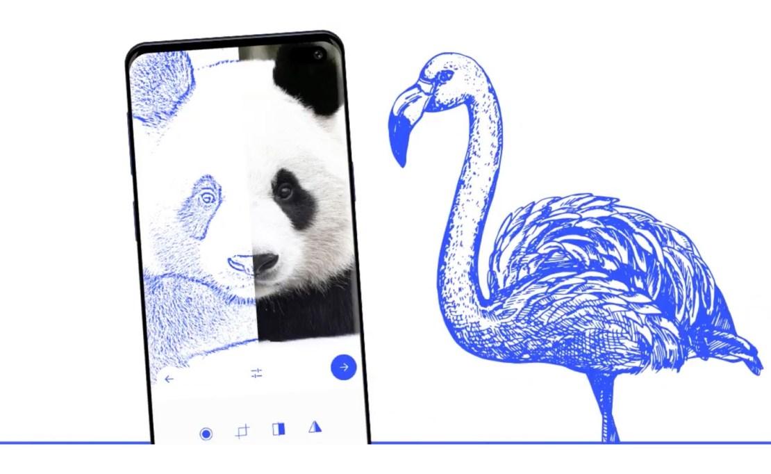"""Aplikacja mobilna """"Sketch AR"""""""