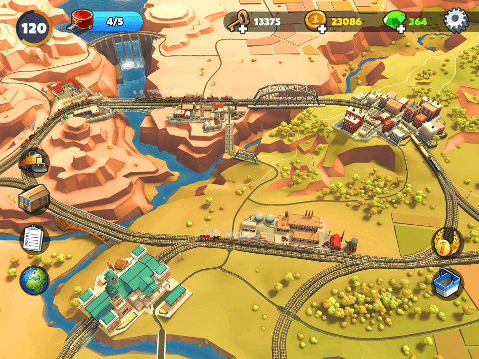Krajobrazy z gry TrainStation 2 (screen)