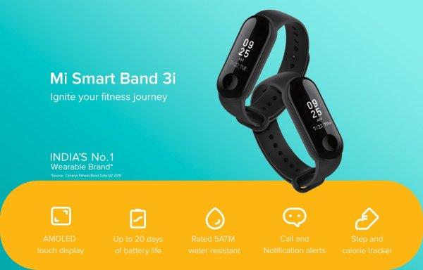 Opaska Xiaomi Mi Band 3i w bardzo niskiej cenie