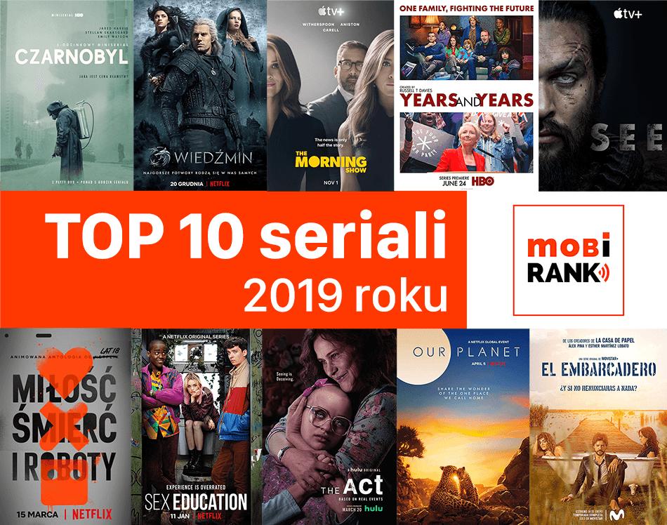 Ranking TOP 10 najlepszych seriali 2019 roku