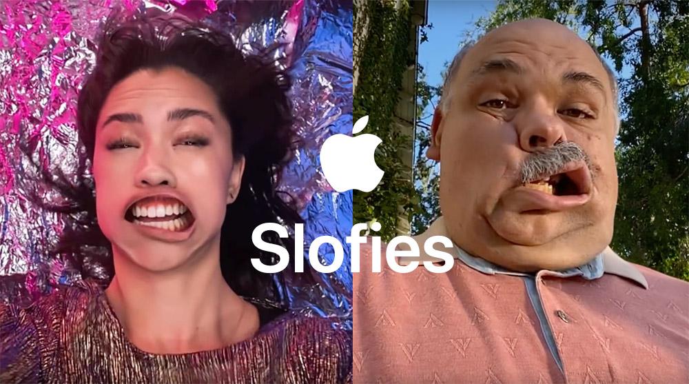 Slofies na iPhonie 11