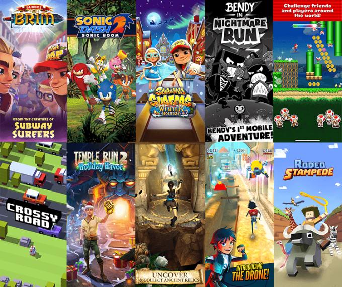 """Ranking najlepszych gier """"endless run"""" 2019"""
