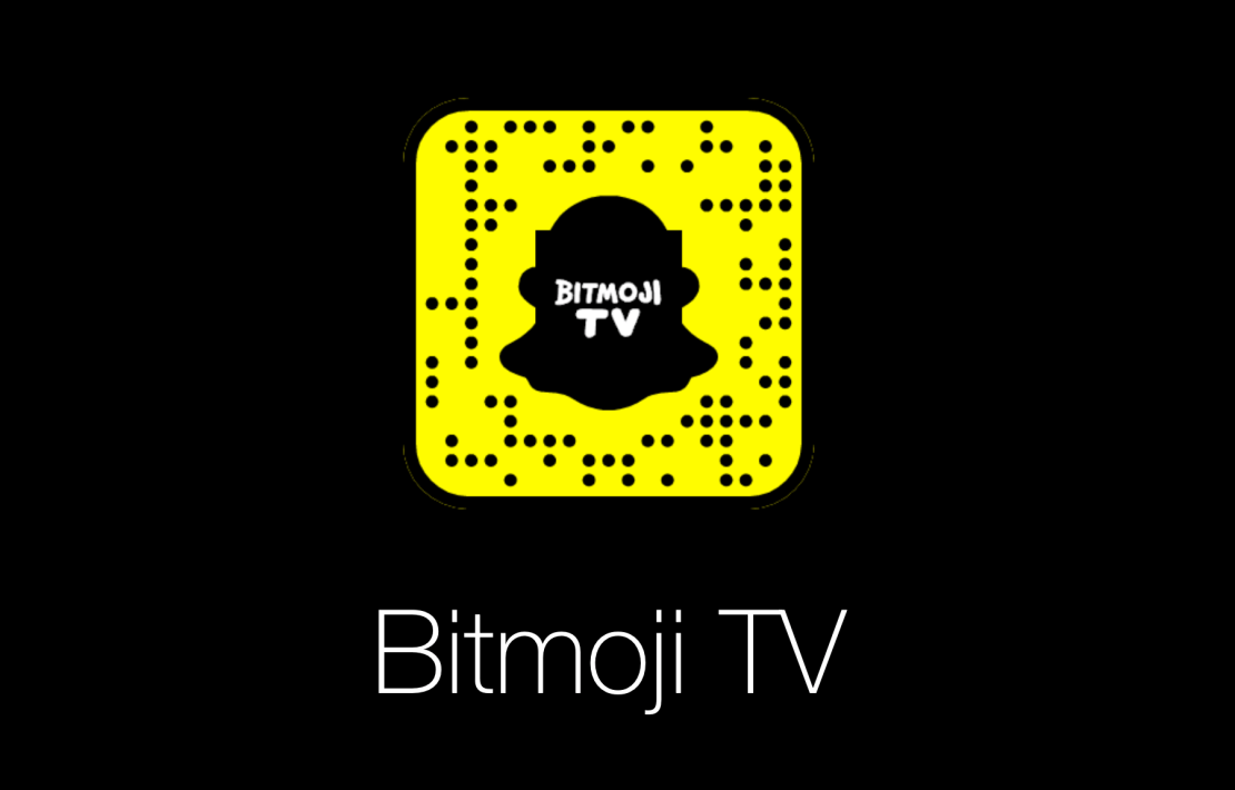 Bitmoji TV (kod QR Snapchat)