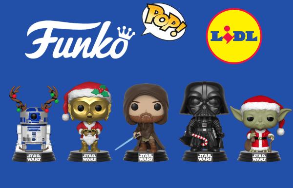 Figurki Funko POP! w Lidlu od 9 grudnia!