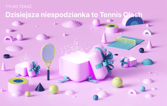 Niespodzianka App Store (27 grudnia): Tennis Clash