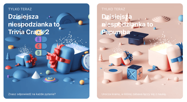 """W 3. dzień niespodzianek App Store: """"Trivia Crack 2"""" i """"Papumba"""""""