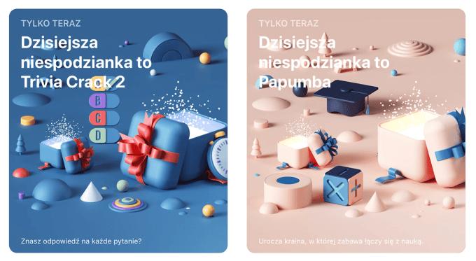Świąteczne niespodzianki w sklepie App Store z 26 grudnia 2019