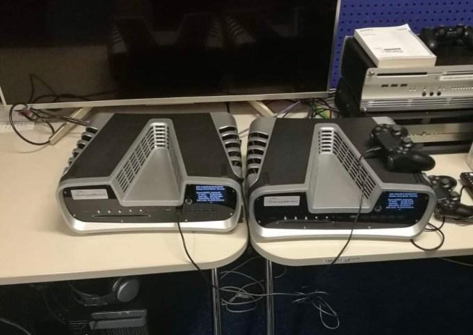 Zdjęcie programistycznej wersji PS5