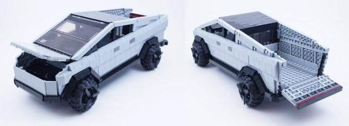 Cybertruck z klocków LEGO (fot. LEGO Ideas)