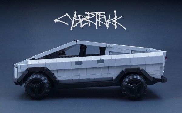 Cybertruck z LEGO pokochałby nawet Elon Musk!