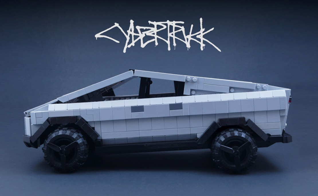 Tesla Cybertruck zrobiona z LEGO (fot. LEGO Ideas)
