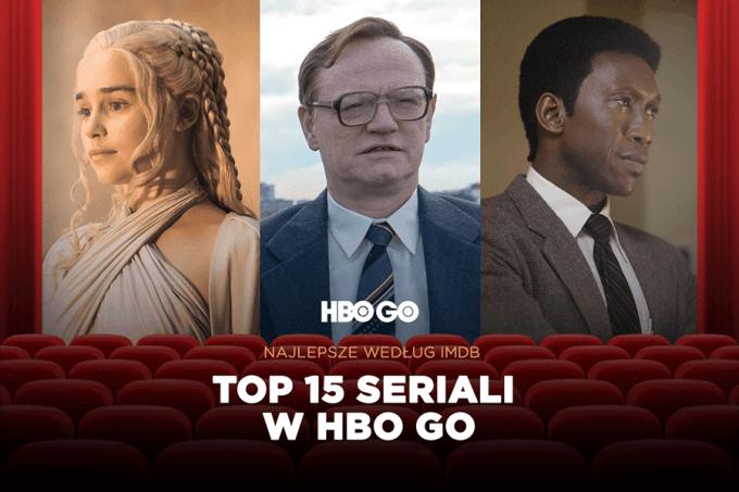 TOP 15 najwyżej ocenianych seriali HBO GO w IMDb w 2019 roku