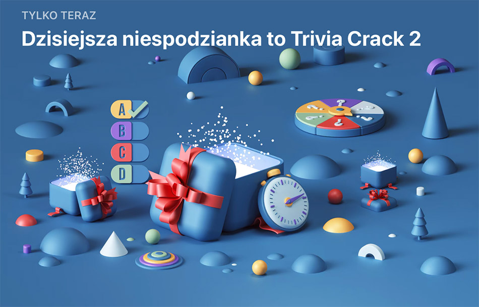 Niespodzianka App Store (26 grudnia): Trivia Crack 2